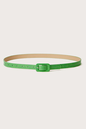 back_Philipppa Elizabeth Mint Geen Square Buckle Belt