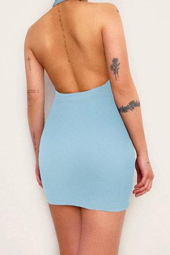 back_Lynne Eve Blue Dress
