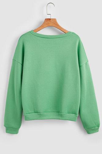 back_Lela Green Sweatshirt