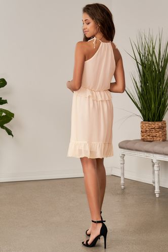 back_Young Dreams Blush Mini Dress