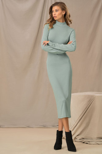 back_So Minty Mint Pencil Dress