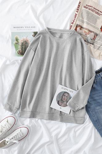 front_Frieda Eartha Light Grey Sweatshirt