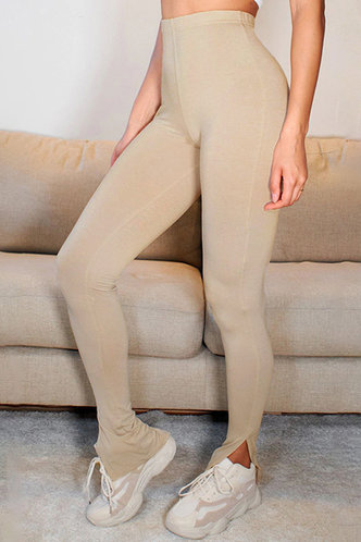 front_Let Me Apricot Leggings