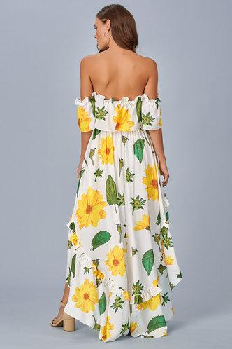 back_In Bloom {Color} Midi Dress