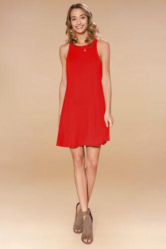 back_Adroit {Color} Mini Dress