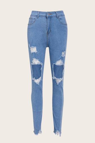 back_Edwina Kradan Wash Light Blue Jeans