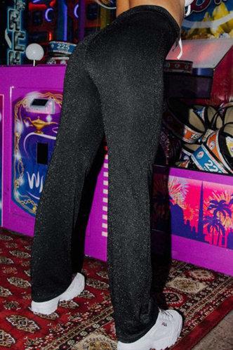 back_Carole Elaine Black Pants