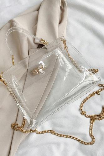 back_Bertha Irlan Transparent Satchel Bag