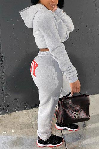 back_Cori Emma Light Heather Grey Sweatpants