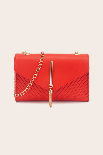 front_Elsa Pepian Red Crossbody Bag