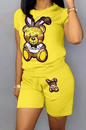 front_Pauline Elma Yellow Set