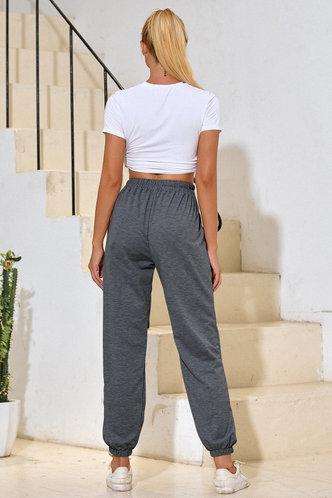 back_Malak Dark Grey Sweatpants