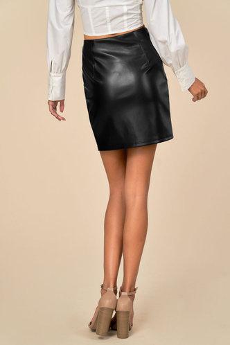 back_After Dark Black Skirt