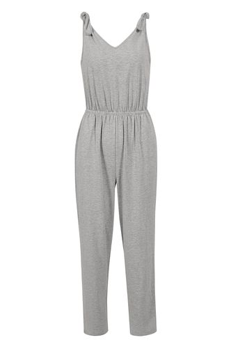 back_Cozy Grey Jumpsuit