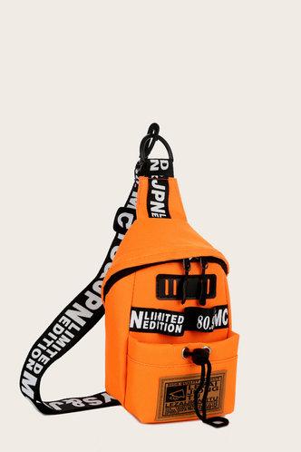 front_Sal Enid Orange Bum Bag