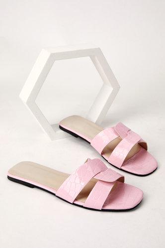 back_Isis Emma Baby Pink Slide Sandals