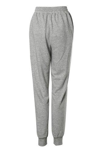 back_Old School Light Grey Marled Sweatpants