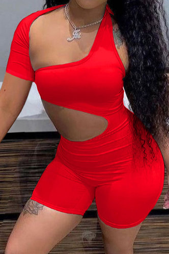front_Giovanna Eunice Red Romper