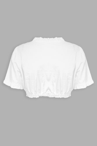 back_Henrike White Crop Top