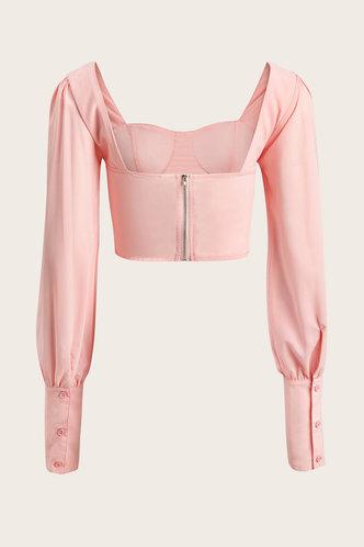 back_Bangladesch Baby Pink Blouse