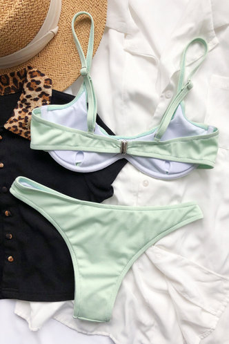 back_Johanna Elsa Mint Green Bikini