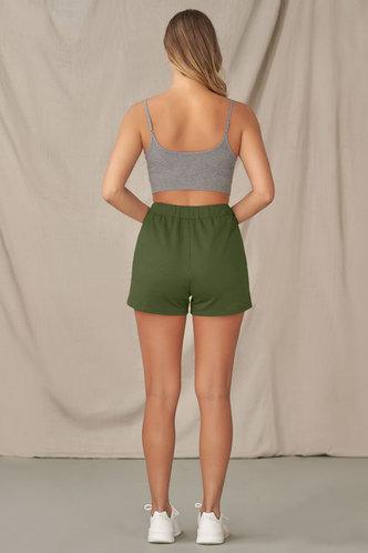 back_Photo Album {Color} Shorts