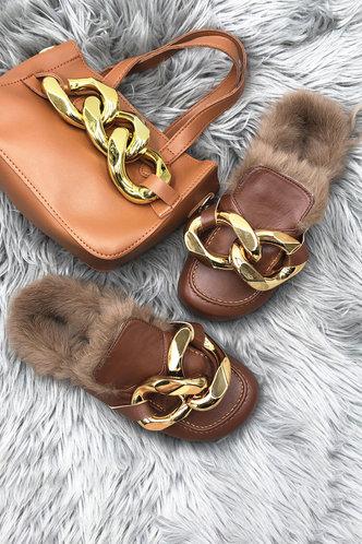 back_Myrtle Erin Brown Plush Sandals