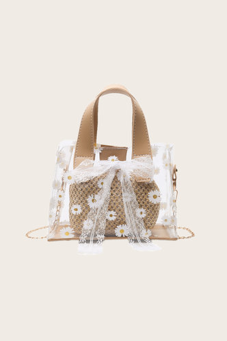 front_Rosamond Elvira Beige Satchel Bag