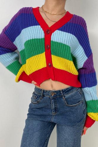 front_Nellia Rainbow Cardigan