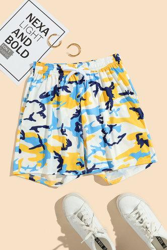 back_Laurel Ella Camo Shorts