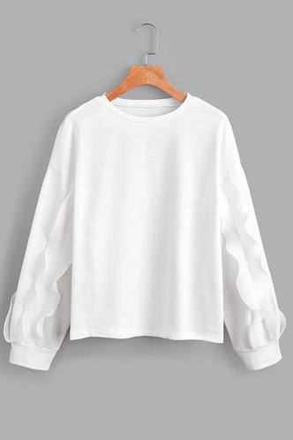 front_Hertha White Sweatshirt