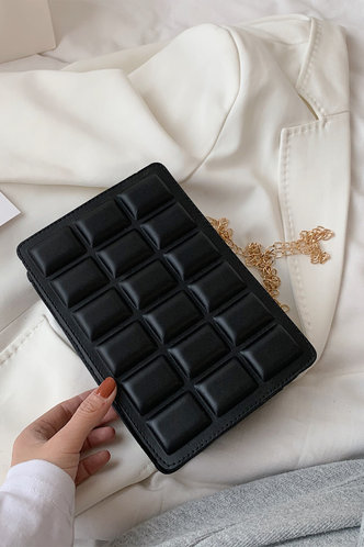 back_Macy Elvira Black Crossbody Bag