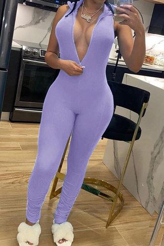 back_Georgia Montril Purple Jumpsuit