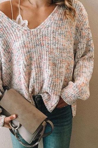 back_Karan Evangeline Multicolor Pullover