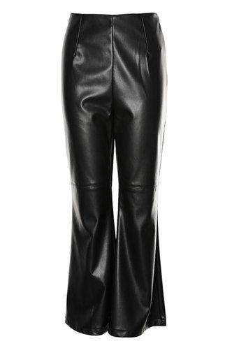 back_Statement Maker Black Leather Pants