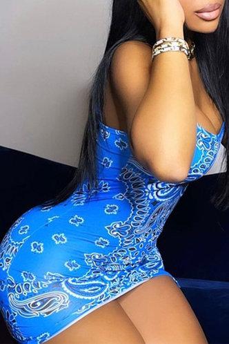 back_Joanne Elizabeth Blue Paisley Print Split Hem Cami Dress