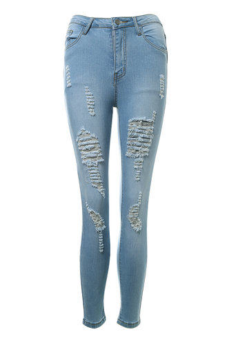 front_Paris In The Rain Light Wash Skinny Jeans