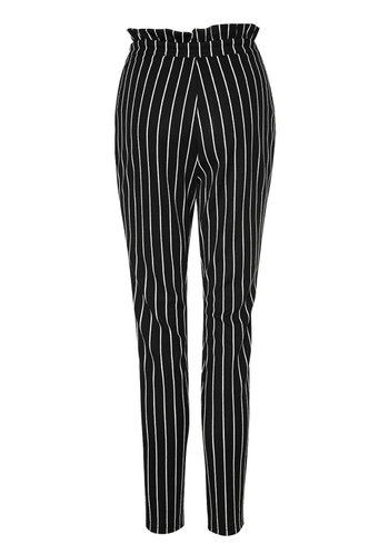 back_Show Your Stripes Black And White Striped Striped Pants