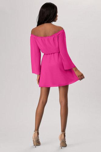 back_Just Dancing {Color} Mini Dress