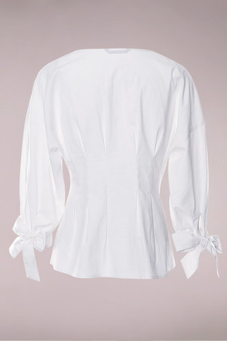 back_Because The Night White Button Up Top