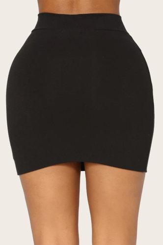 back_Freda Hark Black Skirt