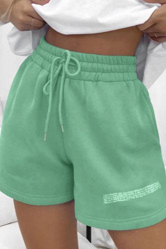 front_Lolita Emma Mint Green Shorts