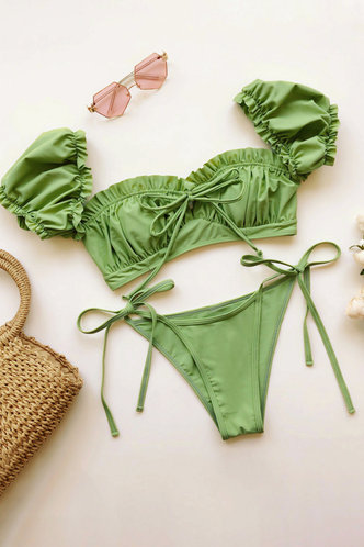 front_Babul Green Bikini
