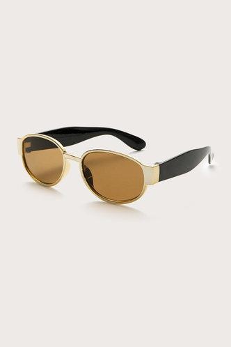 back_Tanya Elizabeth Brown Acrylic Frame Sunglasses