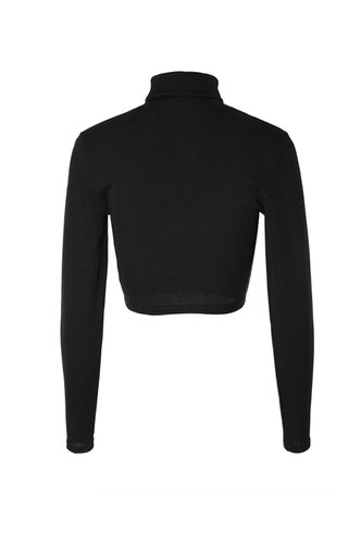 back_Emmerson Black Long Sleeve Top