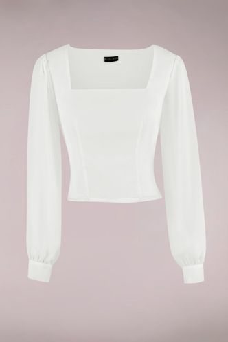 front_Going Crazy Ivory Long Sleeve Top