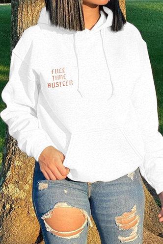 front_Jean Flugil White Sweatshirt & Hoody