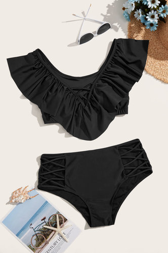 back_Martina Eileen Black Plus Bikini