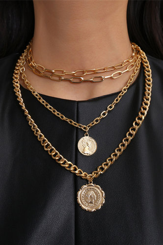 front_Mignon Eden Gold Layered Necklace