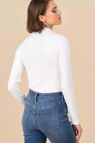 back_Good Idea {color} Long Sleeve Top